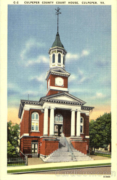 Culpeper County Court House Virginia