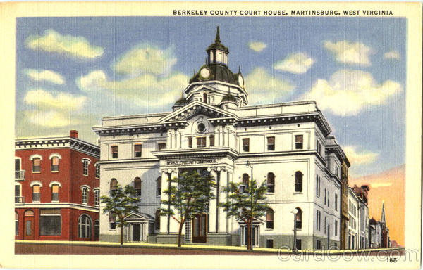 Berkeley County Court House Martinsburg West Virginia