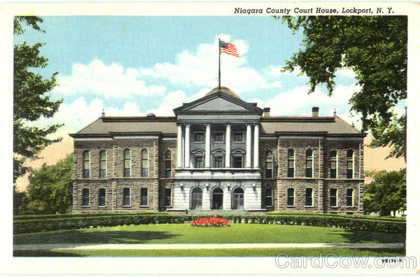 Niagara County Court House Lockport New York