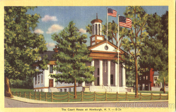 The Court House At Newburgh New York