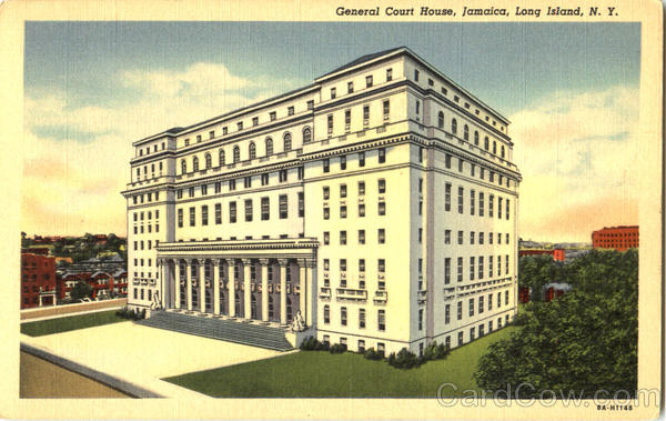 General Court House Jamaica Long Island New York