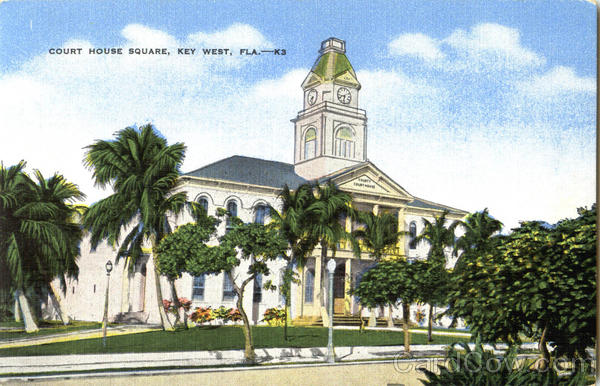 Court House Square Key West Florida