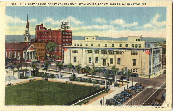 U. S. Post Office Court House And Custom House Rodney Square Wilmington Delaware