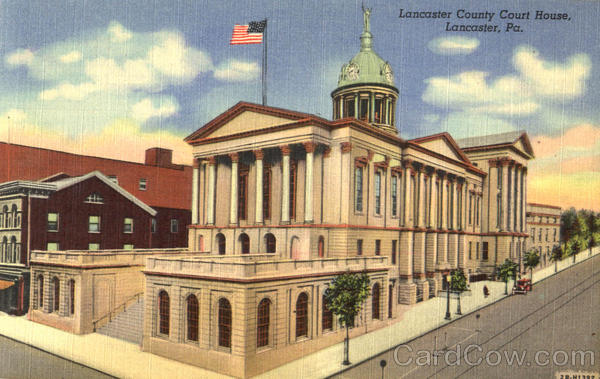 Lancaster County Court House Pennsylvania