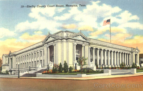 Shelby County Court House Memphis Tennessee