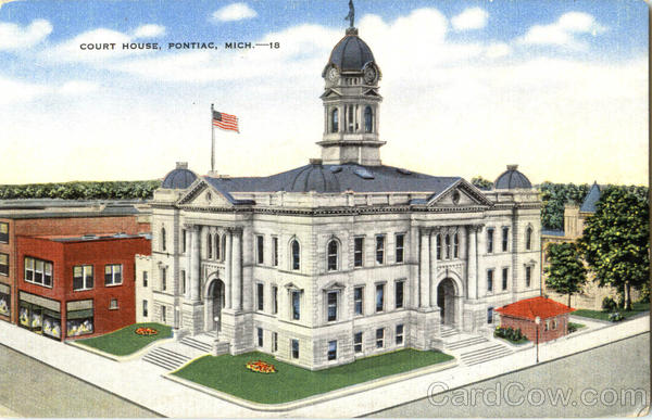 Court House Pontiac Michigan