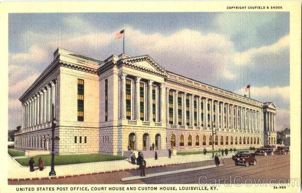 United States Post Office Court House And Custom House Louisville Kentucky