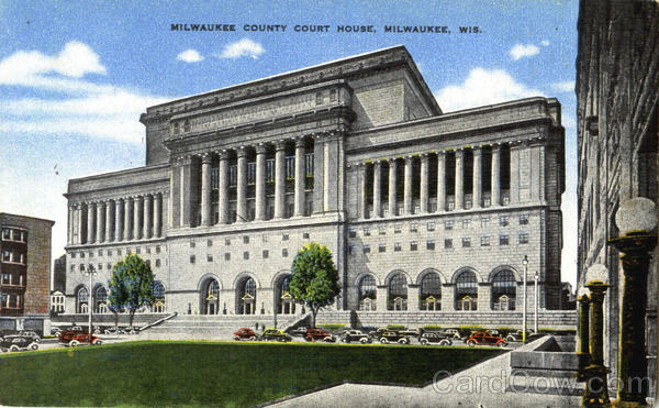 Milwaukee County Court House Wisconsin