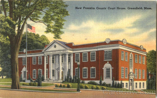 New Franklin County Court House Greenfield Massachusetts