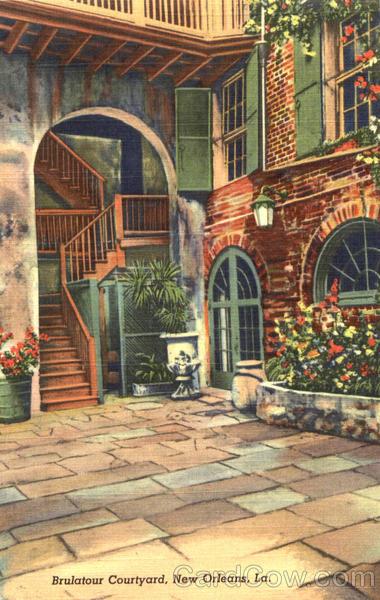 Brulatour Courtyard Ne...