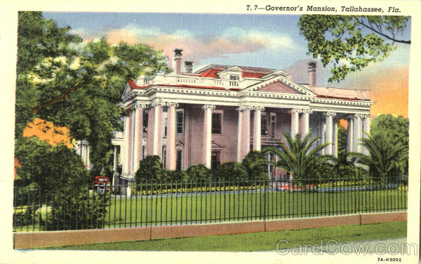 Governor's Mansion Tallahassee Florida
