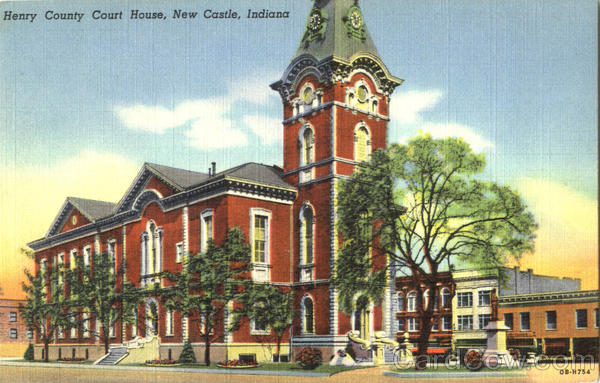 Henry County Court House New Castle Indiana