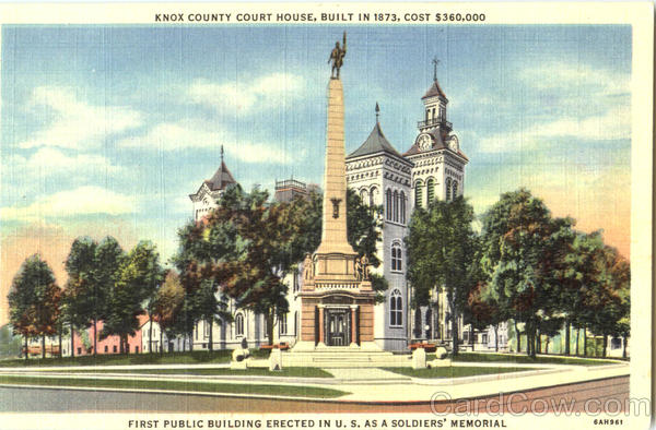 Knox County Court House Vincennes Indiana