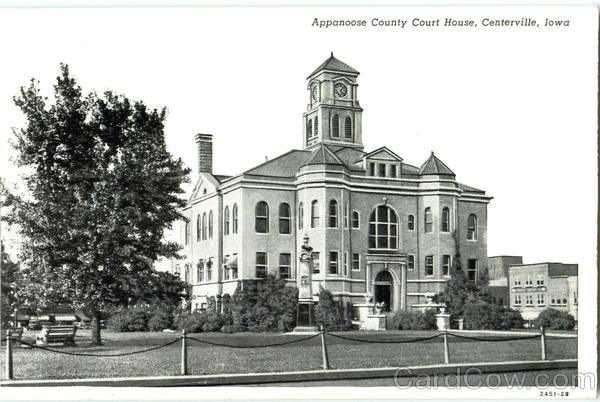 Appanoose County Court House Centerville Iowa