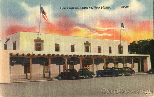 Court House Santa Fe New Mexico