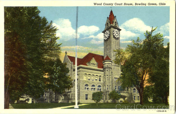 Wood County Court House Bowling Green Ohio