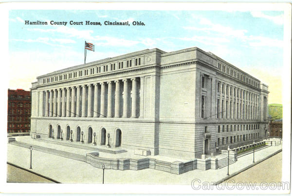 Hamilton County Court House Cincinnati Ohio