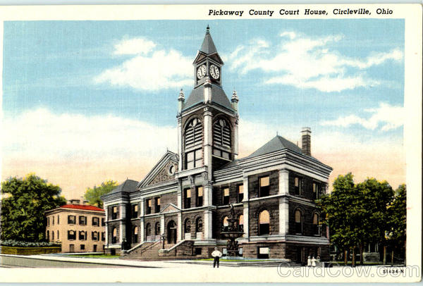 Pickaway County Court House Circleville Ohio