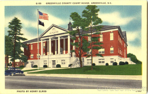 Greenville County Court House South Carolina
