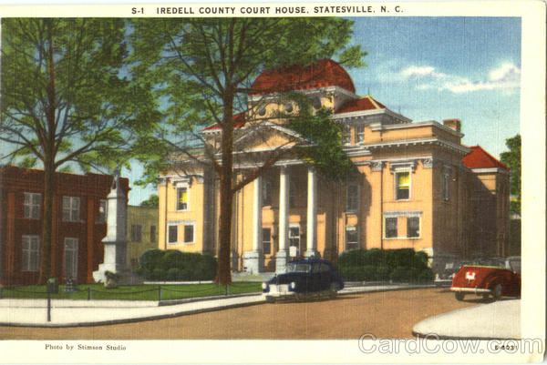 Iredell County Court House Statesville North Carolina