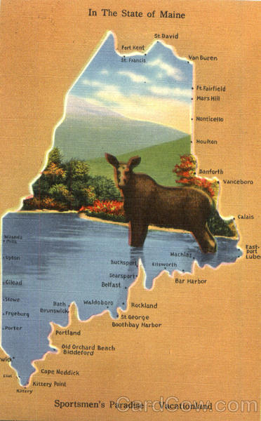 In The State Of Maine Maps