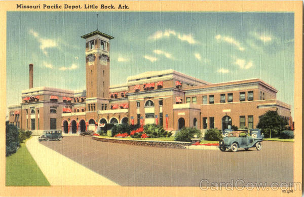 Missouri Pacific Depot Little Rock Arkansas