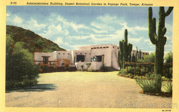 Administration Building , Papago Park Tempe Arizona