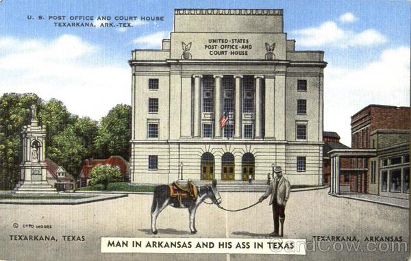 U. S. Post Office And Court House Texarkana Arkansas