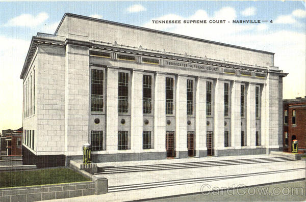 Tennessee Supreme Court Nashville