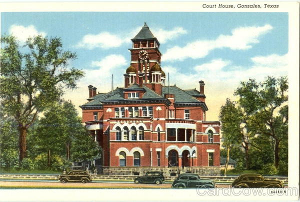 Court House Gonzales Texas