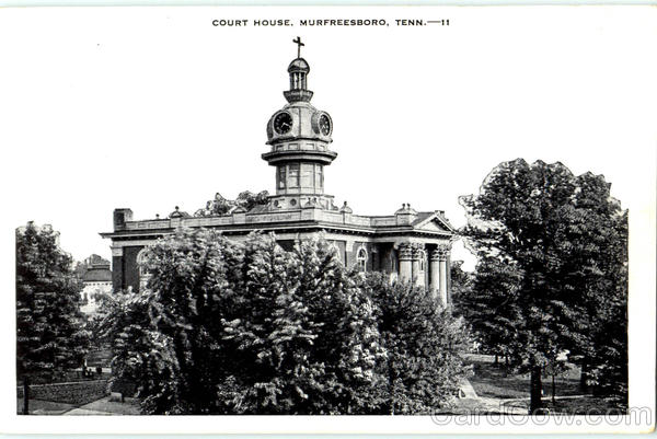 Court House Murfreesboro Tennessee