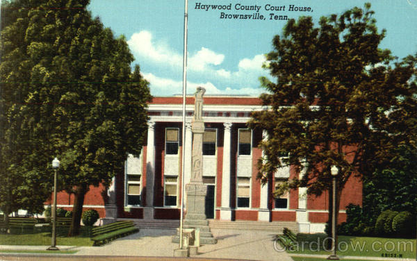 Haywood County Court House Brownsville Tennessee