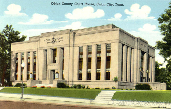 Obion County Court House Union City Tennessee