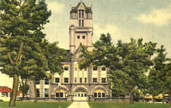Henry County Courthouse Postcard