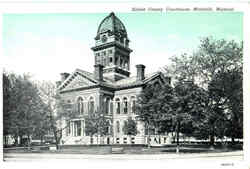 Saline County Courthouse Postcard