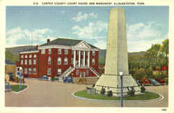 Carter County Court House And Monument