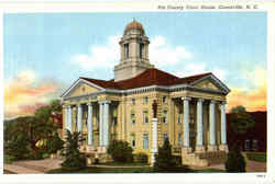 Pitt County Court House