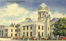 Houston County Court House Postcard