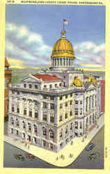Westmoreland County Court House Postcard