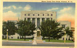 Mercer County Court House Postcard
