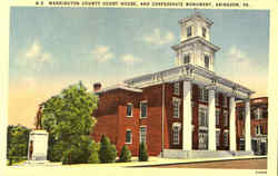 Washington County Court House And Confederate Monument