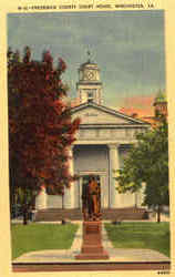 Frederick County Court House Postcard
