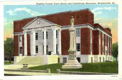 Hopkins County Court House And Confederate Monument