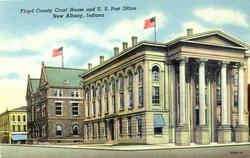 Floyd County Court House And U. S. Post Office