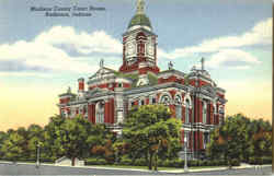 Madison County Court House Postcard