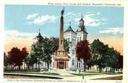 Knox County Court House And Soldiers Monument