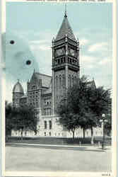 Montgomery County Court House Postcard