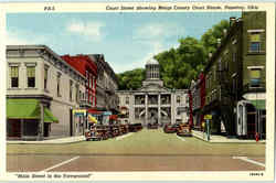 Court Street Showing Meigs County Court House