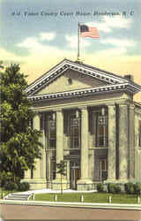 Vance County Court House