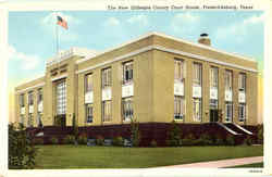 The New Gillespie County Court House Postcard